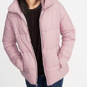 Lilac Coloured Puffer Jacket